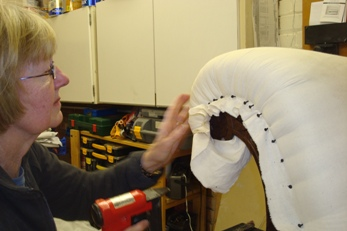 Upholstery Tuition And Commissions In The Morecambe Bay Area